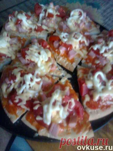 Пицца на очень тонком тесте,как в пиццерии-несколько простых рецептов теста. - Простые рецепты Овкусе.ру