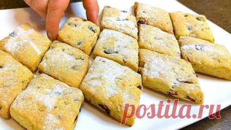 Печенье к чаю за 10 минут + выпечка – пошаговый рецепт с фотографиями