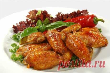 Куриные крылышки в мультиварке — Sloosh – кулинарные рецепты