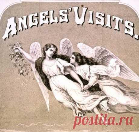 Бесплатные Антикварные Картинки-Великолепные Ангелы Ноты-The Graphics Fairy