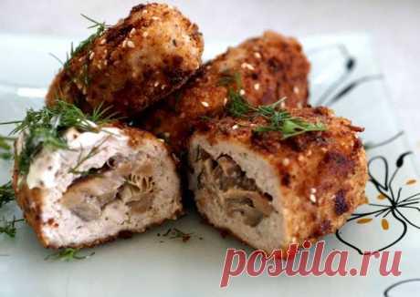 (3) Зразы куриные с грибами - пошаговый рецепт с фото. Автор рецепта Liliya Petrova . - Cookpad