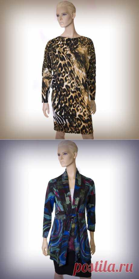 Теплые платья и кардиганы - неотъемлемая часть осеннего гардероба! ― Одежда для Вас