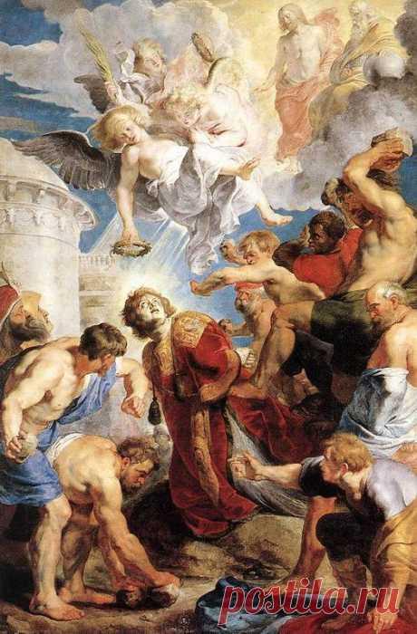 Мученичество святого Стефана 1617. Питер Пауль Рубенс. Описание картины, скачать репродукцию.