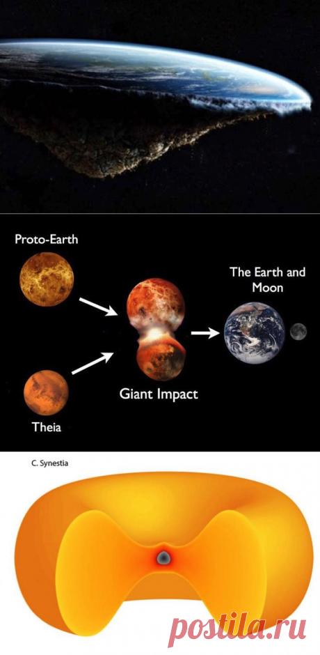 La Tierra era una vez casi plana