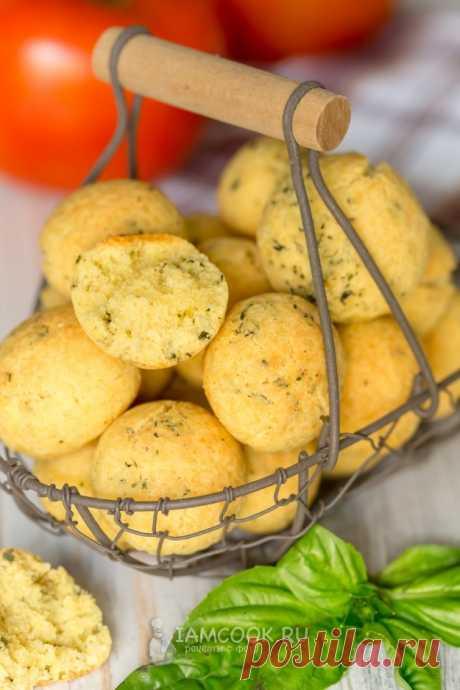 Кукурузное печенье (соленое) — рецепт с фото пошагово