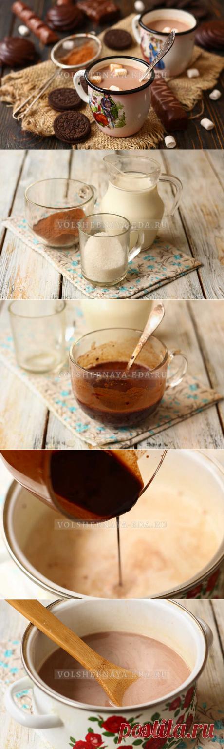 Как сварить какао на молоке