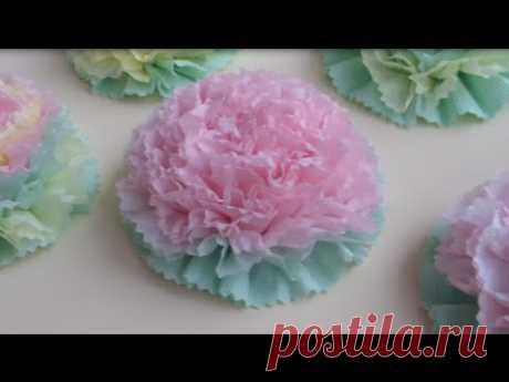 Como hacer las FLORES de las SERVILLETAS \/ Beautiful Paper Flower \/ ✿ NataliDoma
