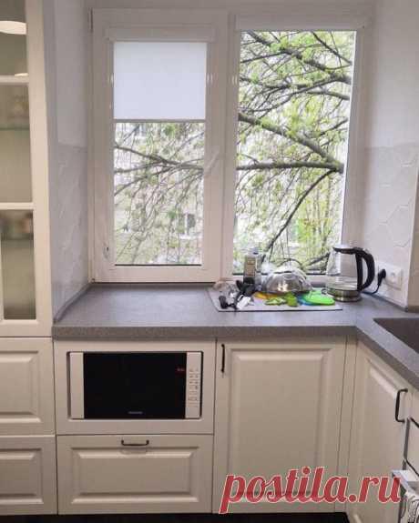 Впихнуть невпихуемое. 2 маленькие и удобные кухни 5.9 кв.м. со всей необходимой техникой