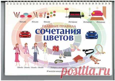 Главные правила сочетания цветов 2010