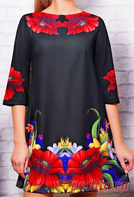 В копилку любителей шитья - шъём платье-трапецию                Платья и сарафаны-трапеция , полюбились очень многим женщинам. Ведь его свободный крой не стесняет движений и придает образу элегантность.      Платье может быть выполнено практически и…