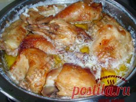 Курица по-грузински. Рецепт. Фото