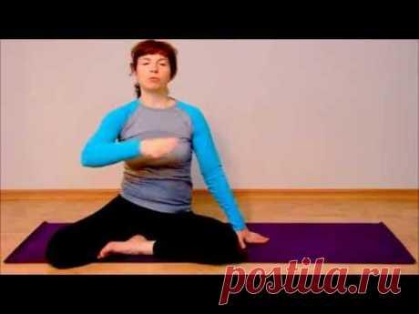 #16 Соматика Томаса Ханны. Урок 6: управление мышцами шеи и плеч