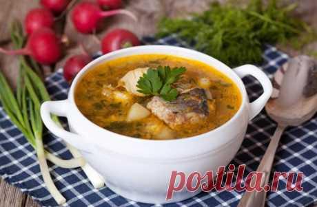 Суп из хека - рецепт с пошаговыми фото / Меню недели