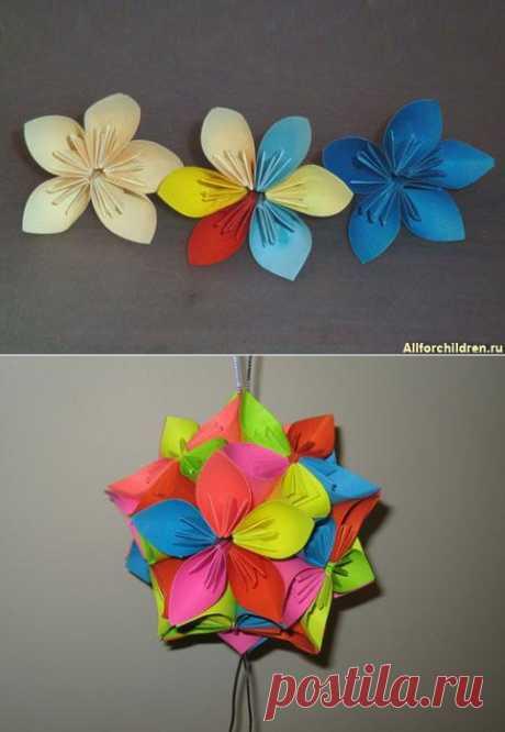 La flor del papel. Que tal kusudamy