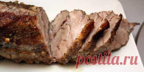 Свиная грудинка в мультиварке в рукаве: рецепт с фото
