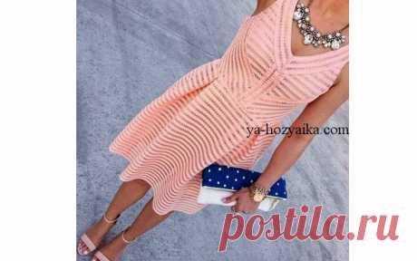 Филейное платье Элегия. Мастер-класс Филейное платье «Элегия»в технике филейного вязания. Мастер-класс