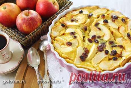 Рецепт Яблочный клафути / Готовим.РУ