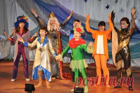 Фрагменты оперы-сказки «Маленький Принц» в юбилейном концерте, посвященном 10-летию детского музыкального театра «Камертон» 28 февраля 2019 года.