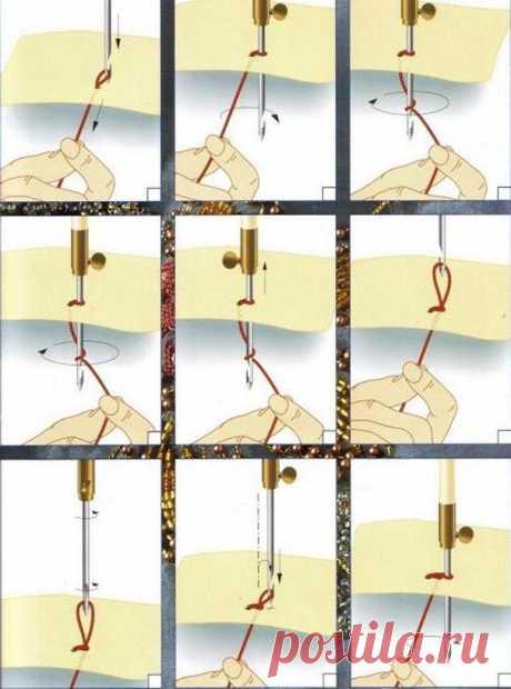 Тамбурная вышивка люневильским крючком
