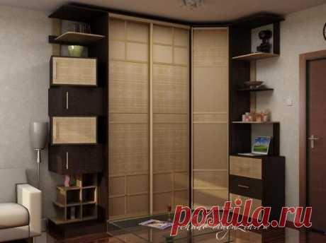 Угловой шкаф из бамбука на заказ в Москве: фото, идеи, ротанг, натуральные обои