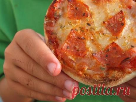 Пиццоладушки - быстрая альтернатива пицце. Хоть на завтрак, хоть на ужин. Жарится мгновенно. | DiDinfo | Яндекс Дзен