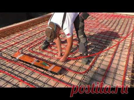 УШП своими руками: армирование, теплый пол, бетон СТРОИМ ДЛЯ СЕБЯ