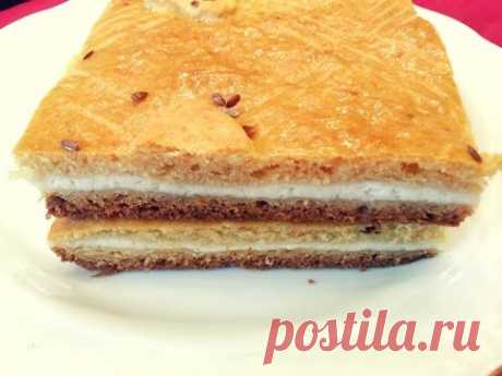 Пирог с творогом Вас удивит и порадует! Быстрый Пирог к чаю за 25 минут. cottage cheese pie - YouTube