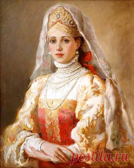 (+1) тема - Русские красавицы на картинах К.Маковского и В.Нагорнова | Искусство