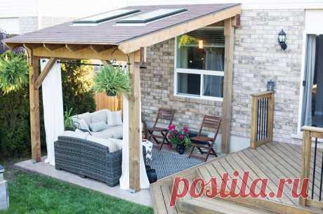 20 идей обустройства места для отдыха во дворе или на даче, которое не заменит никакой курорт