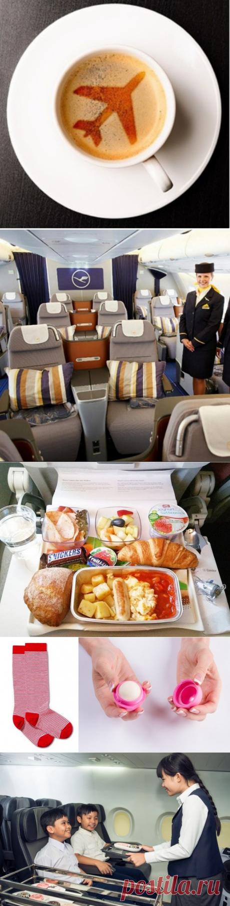 10 бесплатных услуг в самолётах, которыми мало кто пользуется / Туристический спутник
