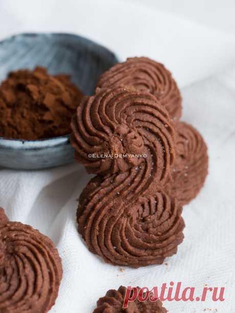 Elena Demyanko: Венское печенье с какао от Пьера Эрме / Pierre Herme's Viennese Chocolate Sables