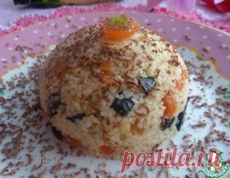 """Кускус """"На завтрак"""" с орехами и сухофруктами – кулинарный рецепт"""