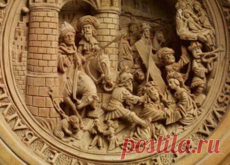 Резьба по дереву от мастеров 16-го века