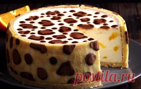 Этот торт настолько роскошный, что гости не оставят от него ни крошки! Узнайте как приготовить леопардовый торт в домашних условиях. Очень просто и вкусно, обязательно попробуйте!
