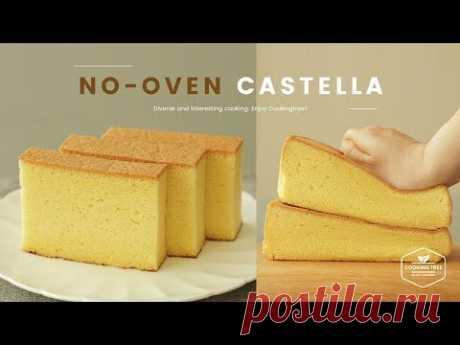Приготовление бисквита Кастелла на плите