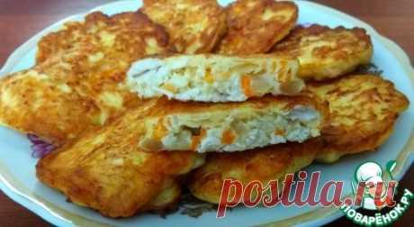 Куриные оладьи с морковью и луком – кулинарный рецепт