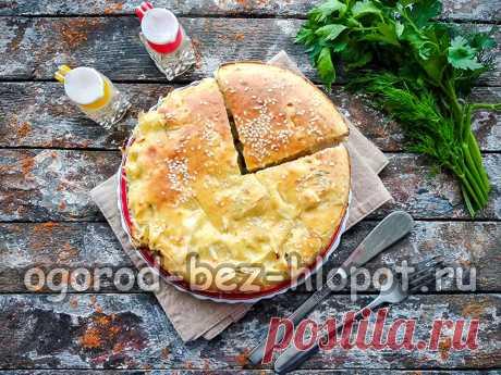 Минутный пирог из капусты, который тает во рту: рецепт с фото