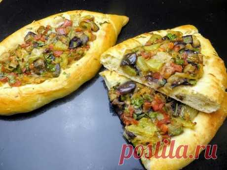 Рецепт хачапури с овощной начинкой (мой вариант аджапсандали) / Любимые рецепты домашней выпечки