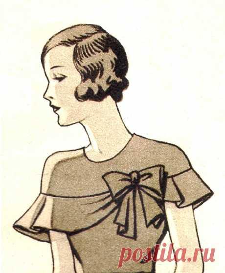 Блузка или лиф платья