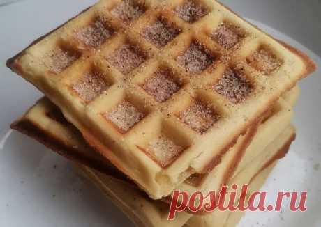 (3) Вафли в вафельнице с кукурузной мукой и корицей - пошаговый рецепт с фото. Автор рецепта Антонина🌱🌳 . - Cookpad