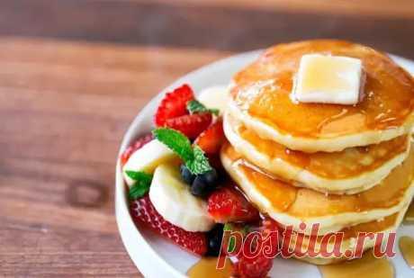 Панкейки на молоке: идеальный завтрак для всей семьи - Скатерть-Самобранка - медиаплатформа МирТесен