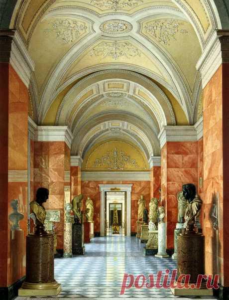 Walk on Hermitage halls. Part 7.