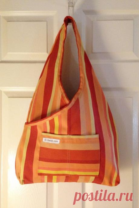 Гениальная простота! Сумка-торба за 30 минут! Огромный простор для декора и самая легкая выкройка для сумки!   Юлия Жданова   Яндекс Дзен