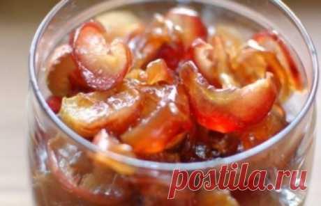 Варенье из яблок дольками прозрачное: быстро и просто