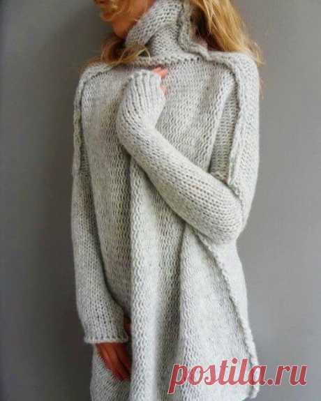 Модные, стильные, эффектные! Подборка вязаных свитеров (часть 2)   Идеи рукоделия   Яндекс Дзен