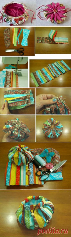 Учимся делать японские сумочки омияге