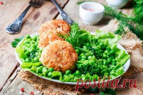 Рыбные котлеты из хека — Sloosh – кулинарные рецепты