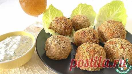 Нежные, хрустящие мясо кабачковые шарики Кулинарный рецепт