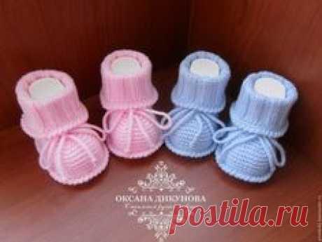 """Купить Пинетки """" Топотушки"""" - комбинированный, однотонный, пинетки для новорожденных, пинетки для девочки, пинетки для мальчика"""