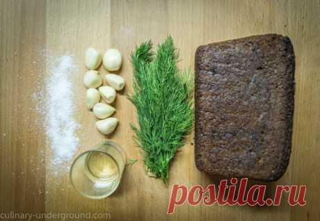 Как приготовить самые вкусные чесночные гренки